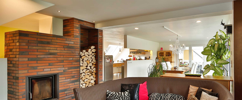 Wohnzimmer mit Veroboard Rapid im Trockenbau